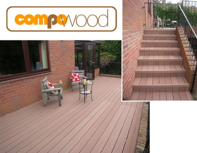 What is compo-wood decking ?