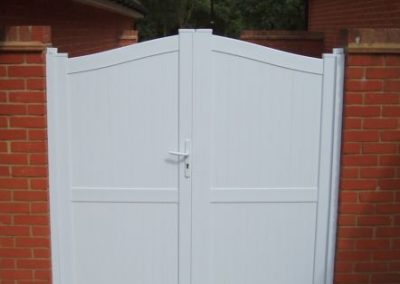 Double Executive Gate White