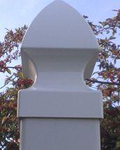 Post Cap Gothic Cap